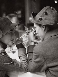 Avedon Lunches in Paris, 1948