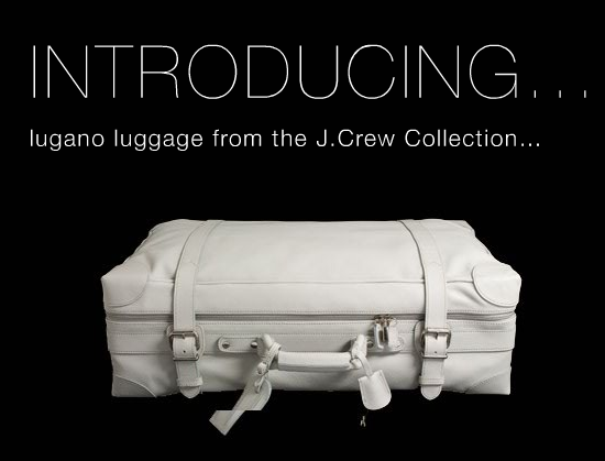 Lugano Luggage Collection by J.Crew