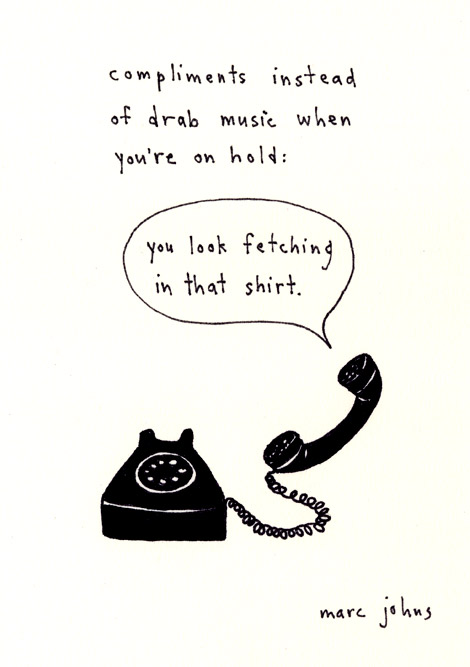 compliments-on-hold