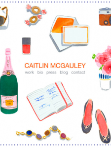 Latest obsession: Caitlin McGauley