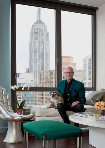 The New York Times Has Profiled Decorator Jamie Drake S Temporary Digs And I Can T Get Enough Of His Trademark Pops Color