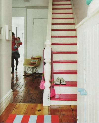 Painted Stairs - 1