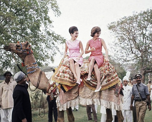 Mrs. Kennedy Goes Abroad