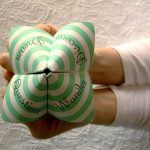 Letterpress Cootie Catcher
