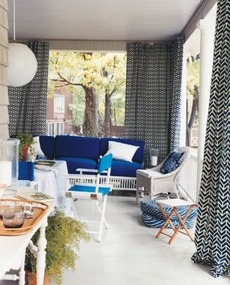 outdoor porch curtains-blue white_outdoorrooms_may06_domino