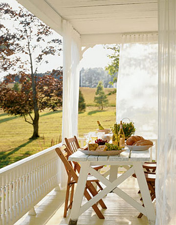 porch_table curtains white brown summer_country living