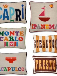 The pillow from Ipanema…