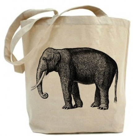elephant-cotton-tote-bag