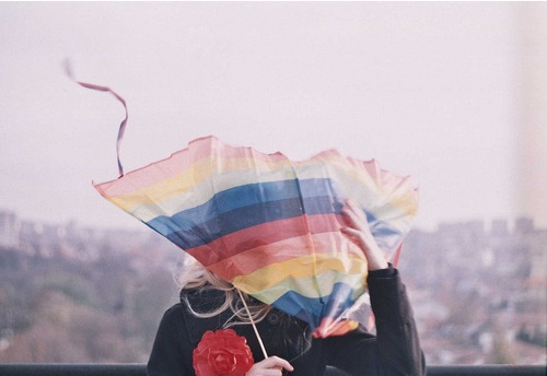 girl-with-kite-stripes-rose
