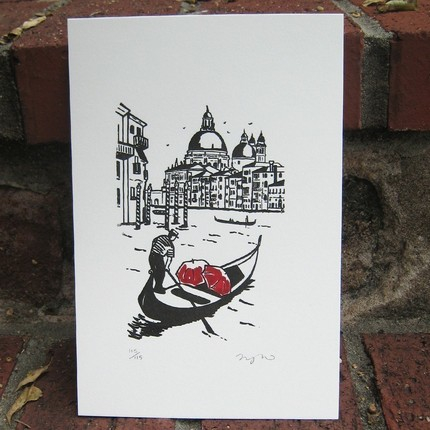 venice-couple-love-umbrella-illustration