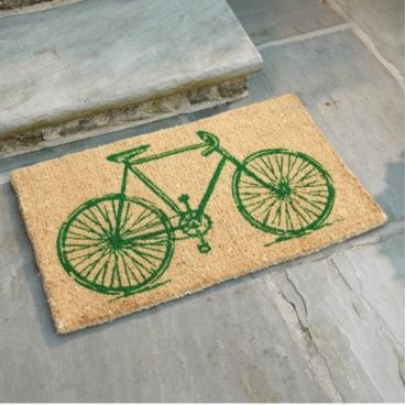 green-bicycle-doormat-ballard-designs