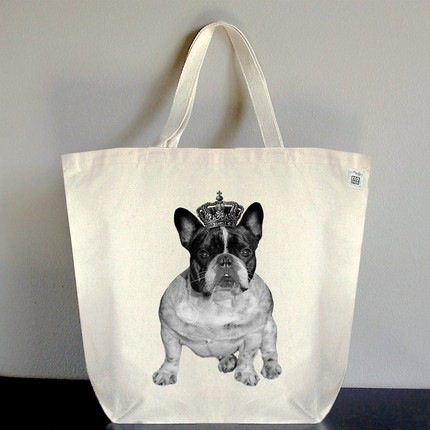 French-Bulldog-Royal-Crown-Tote-Bag