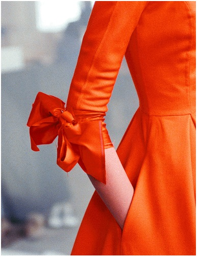 lisa-ann-photograph-orange-dress