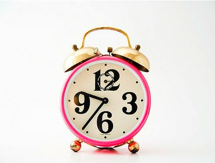 vintage-pink-and-gold-alarm-clock