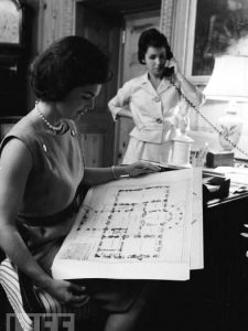 Jackie Kennedy, Decorator Extraordinaire