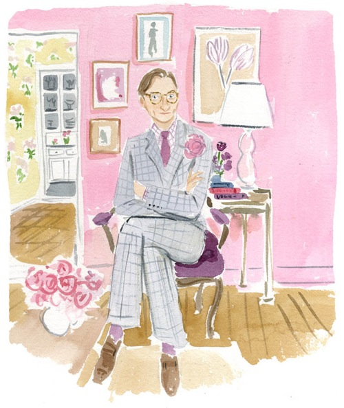 Hamish Bowles by Caitlin McGauley