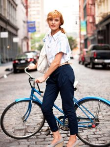 Biking Beauty
