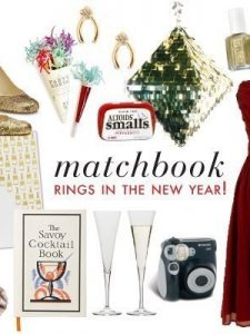 Matchbook Rings in the New Year
