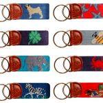 Needlepoint Key Fobs