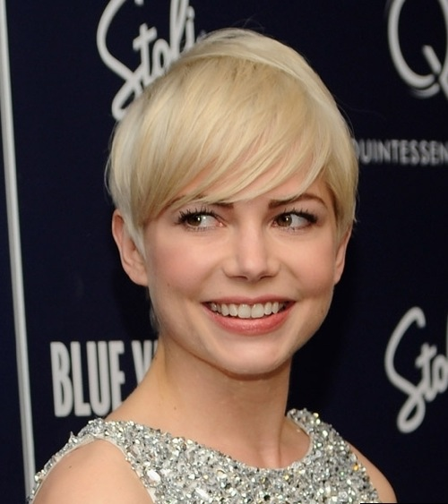 michelle williams short hair cannes. Michelle+williams+pixie+