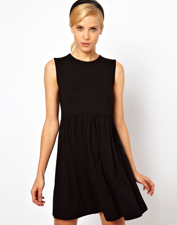 black-smock-sleeveless-dress-ASOS