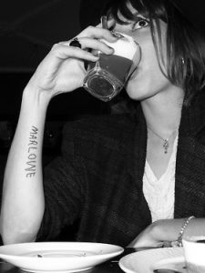 Lou Doillon's Tattoo