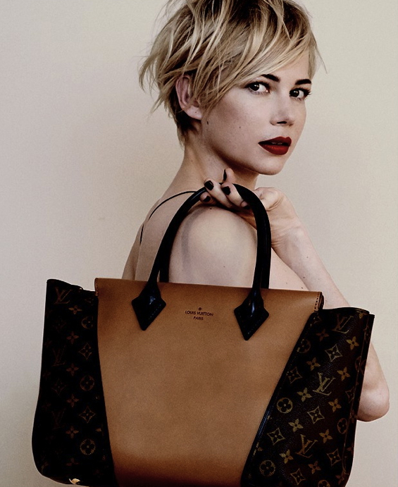 Michelle-Williams-Actress-Louis-Vuitton-Handbag-Advertising-Campaign-1