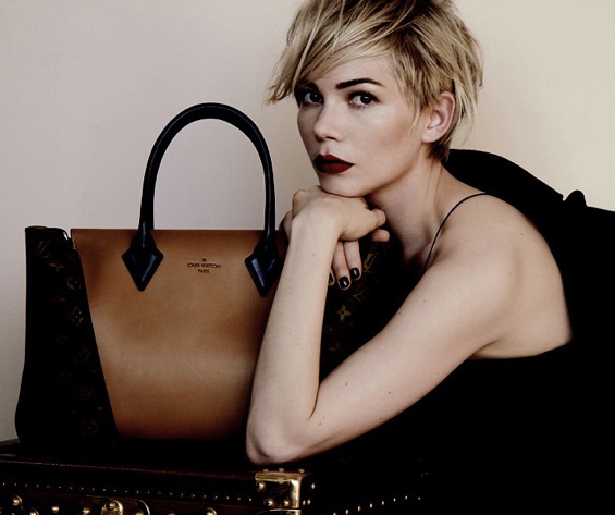 Michelle-Williams-Actress-Louis-Vuitton-Handbag-Advertising-Campaign-2