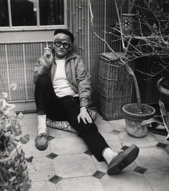 NPG x40199; David Hockney by Cecil Beaton