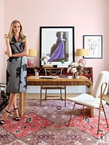 Lauren Santo Domingo's Manhattan Office