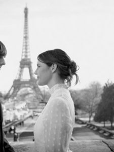 Winter Wedding in Paris