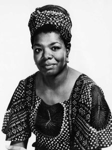 Rest in Peace, Maya Angelou