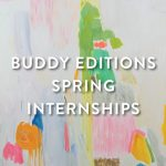 Buddy Editions is Hiring Interns!