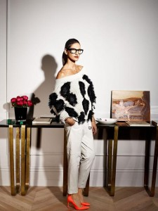 Jenna Lyons in Le Figaro Madame