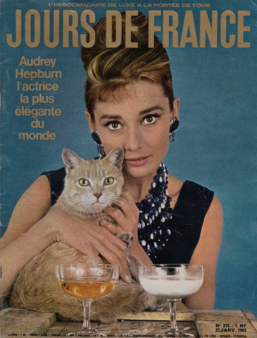 audrey-hepburn-howell-conant-breakfast-at-tiffanys-jours-de-france-magazine-cover