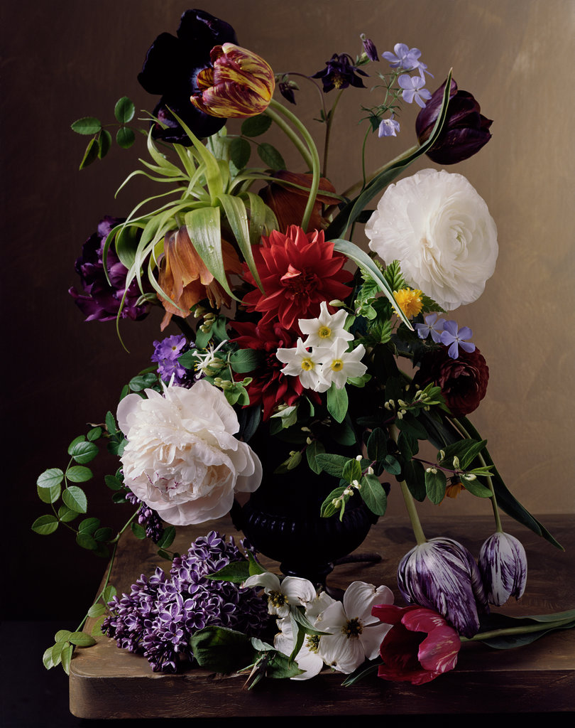 Floral still lifes by sharon core the neo trad for Bouquet de fleurs nature