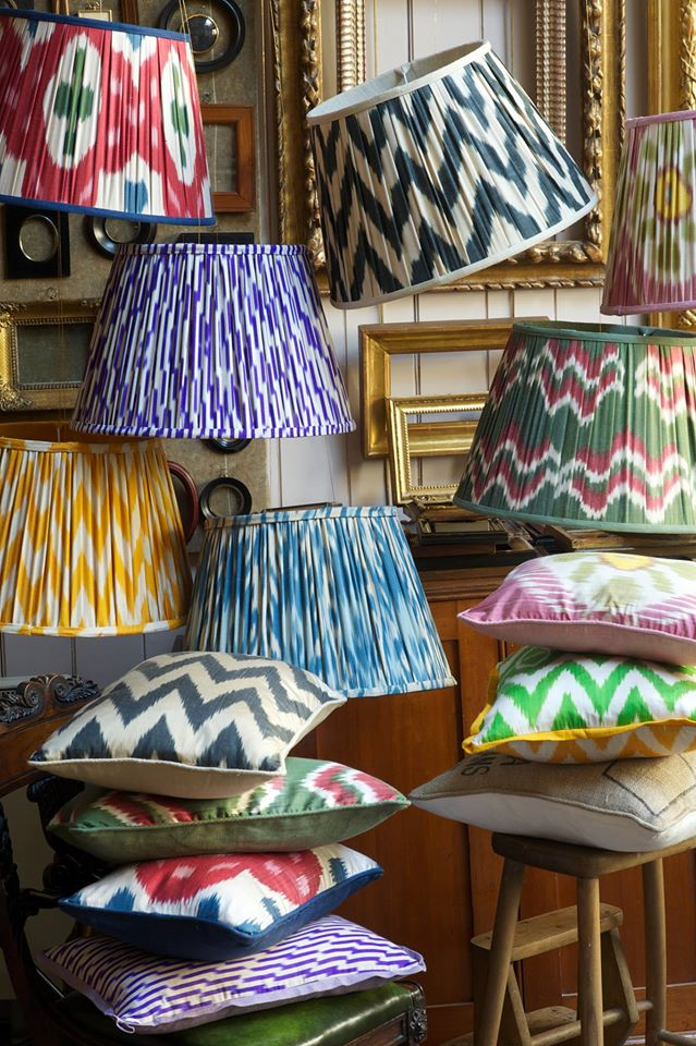 melodi-horne-silk-lampshades-pillows-ikat-notting-hill-1