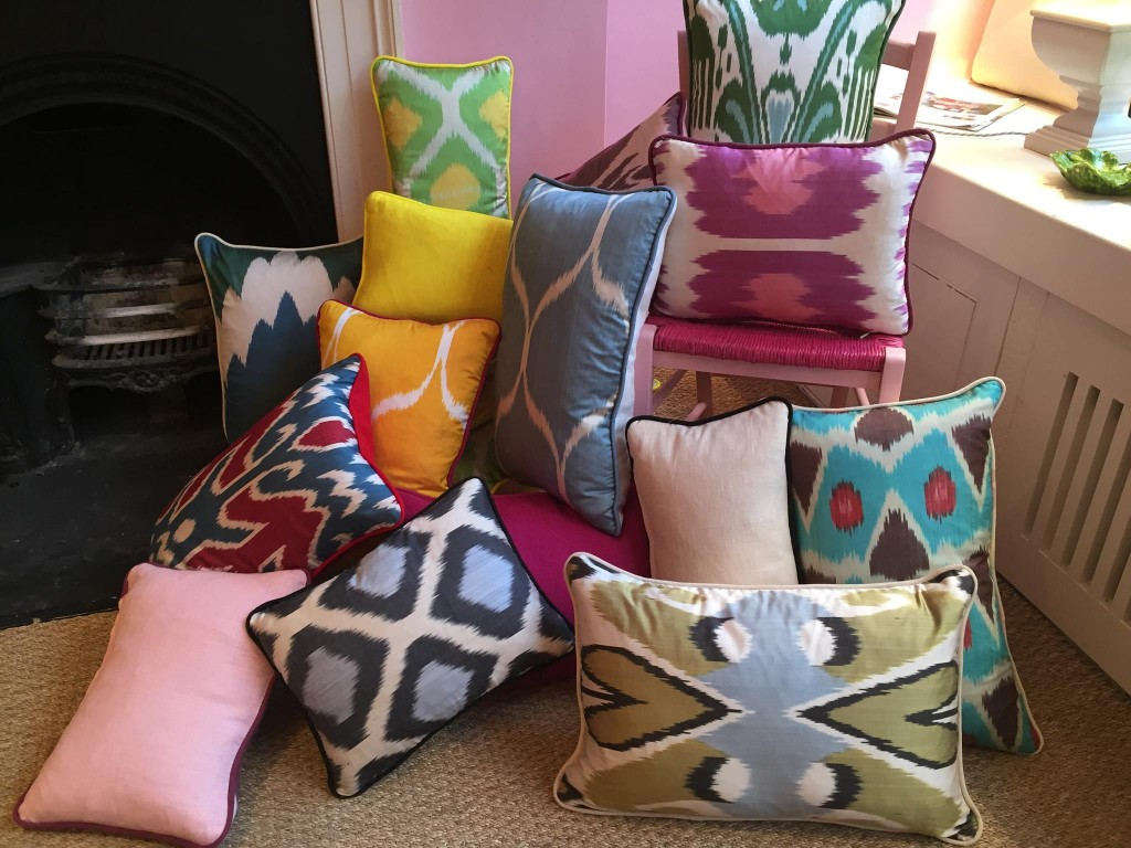 melodi-horne-silk-lampshades-pillows-ikat-notting-hill-2
