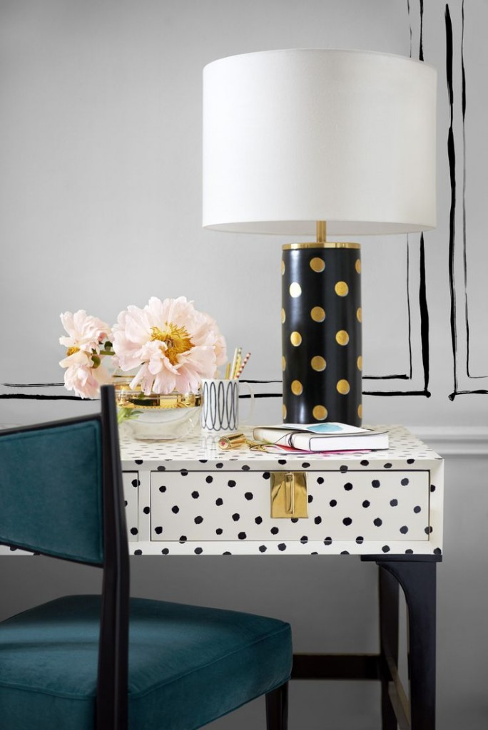 Kate spade new york launches home collection katie considers for Home decor new york