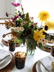 Our Autumnal Thanksgiving Table