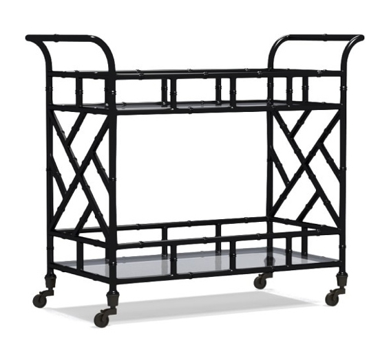 chippendale-bar-cart-black-bamboo