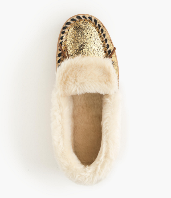 gold-metallic-moccasins-slippers