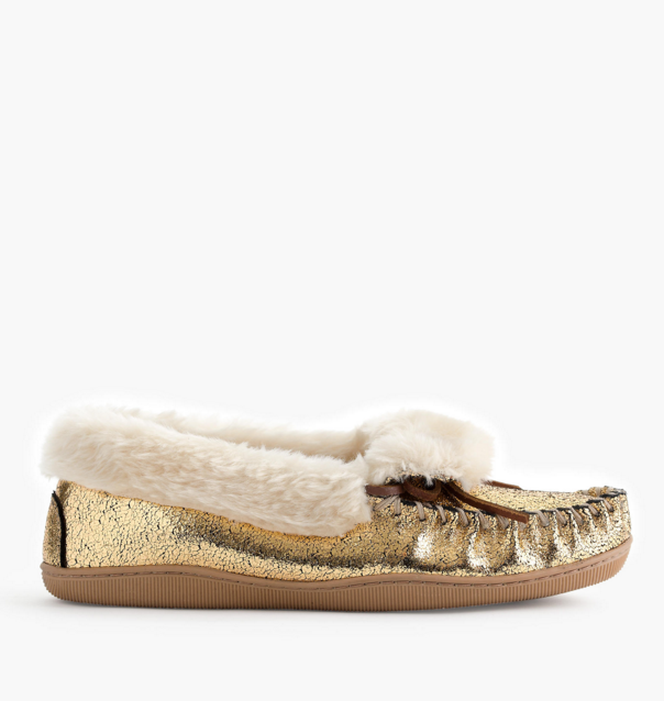 gold-moccasins-slippers