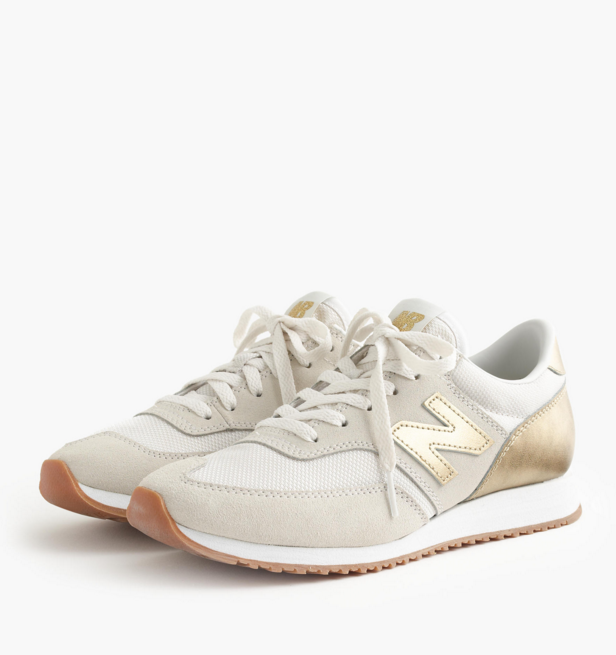 gold-new-balance-sneakers