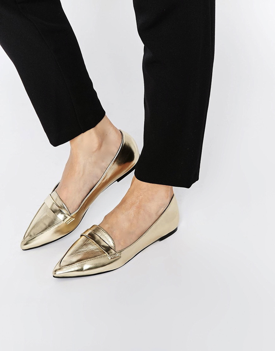 gold-pointy-flats