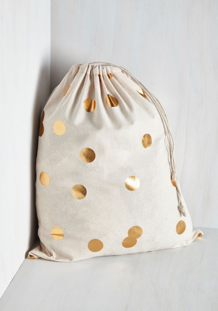 gold-polka-dot-laundry-bag
