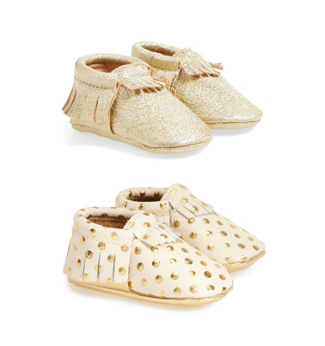 gold-polka-dot-leather-baby-moccasins