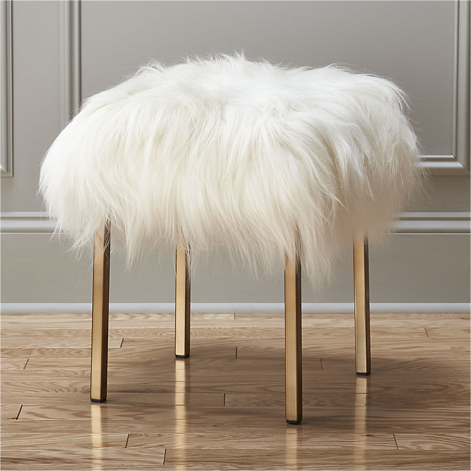 sheepskin-stool-cb2