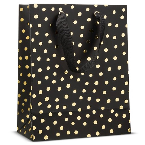 sugar-paper-black-gold-dots-gift-bag-holiday