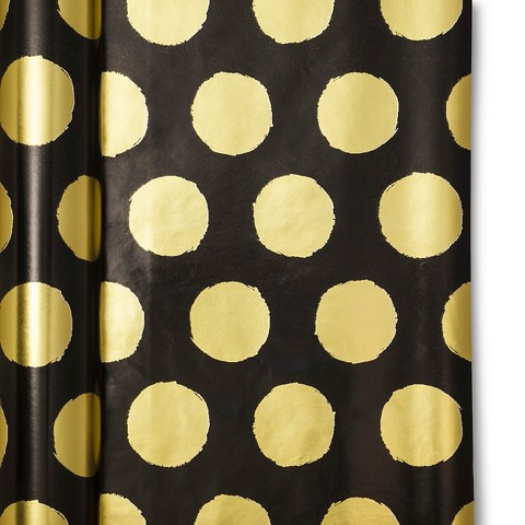 sugar-paper-black-with-gold-dots-gift-wrapping-holiday